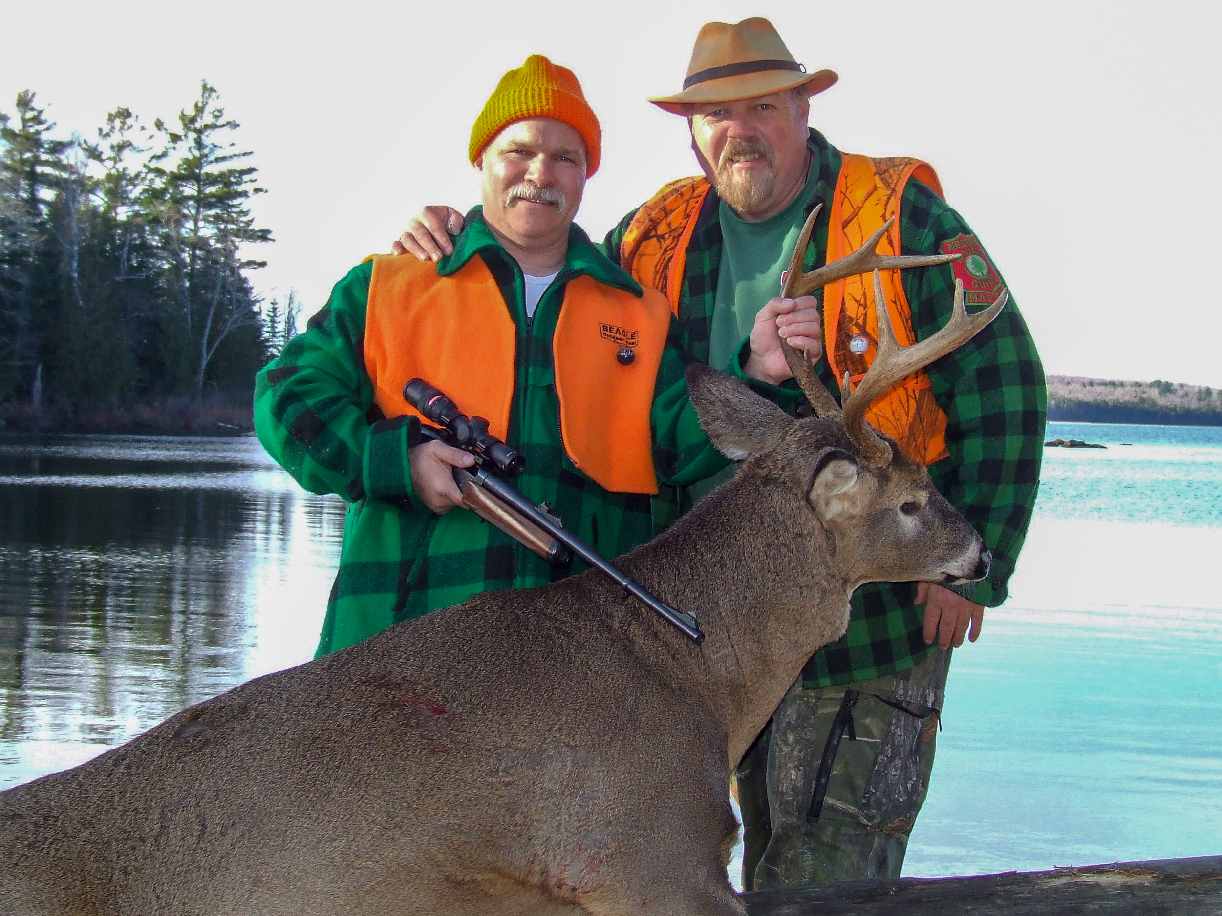 Guided maine deer hunts with Randy Flannery