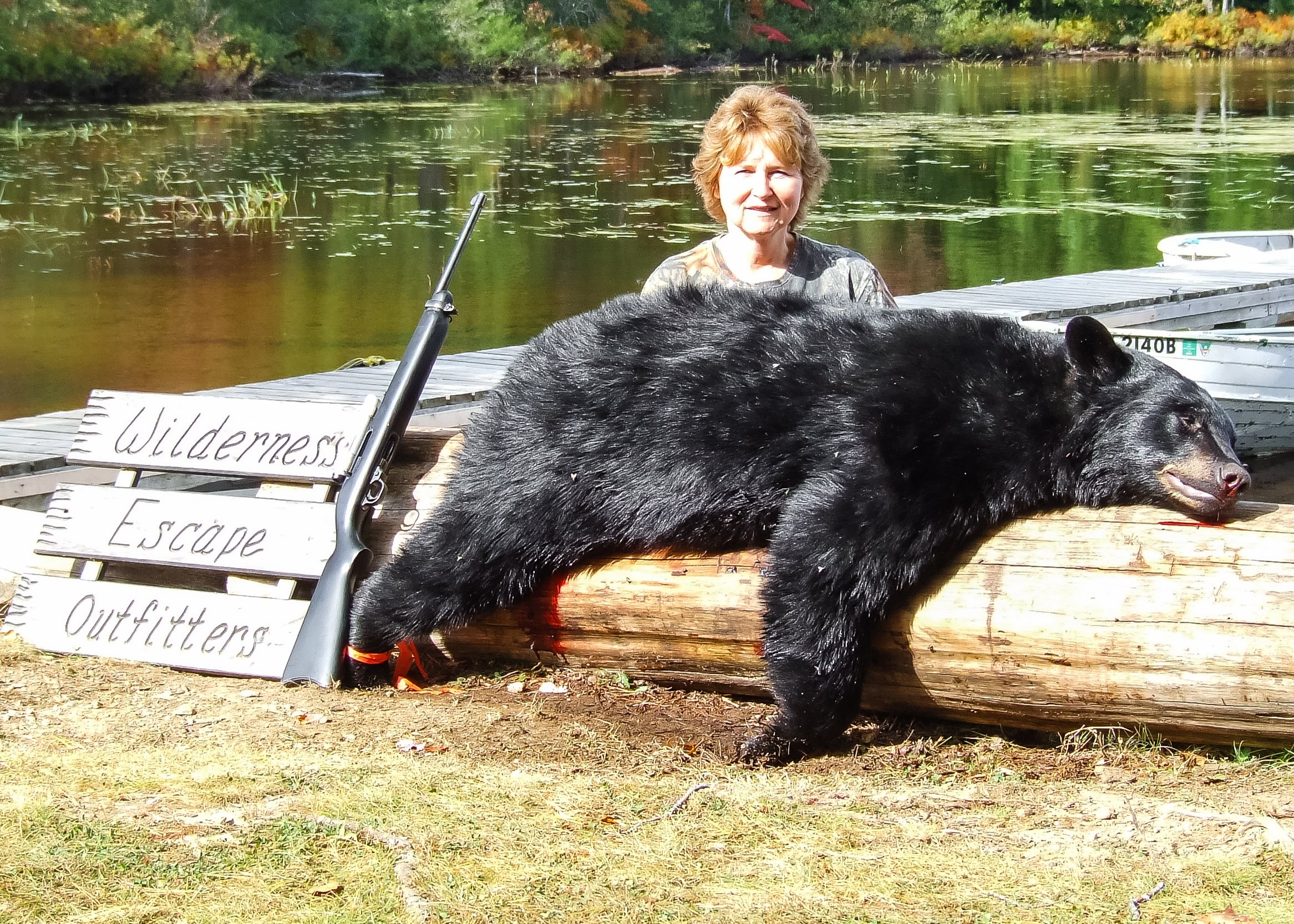 Maine bear hunts over bait
